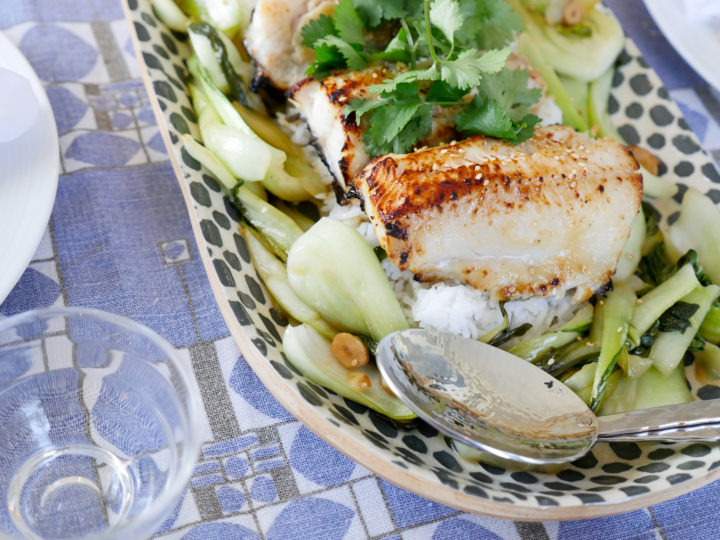 Eva Amurri Martino's recipe for Miso Marinated Cod