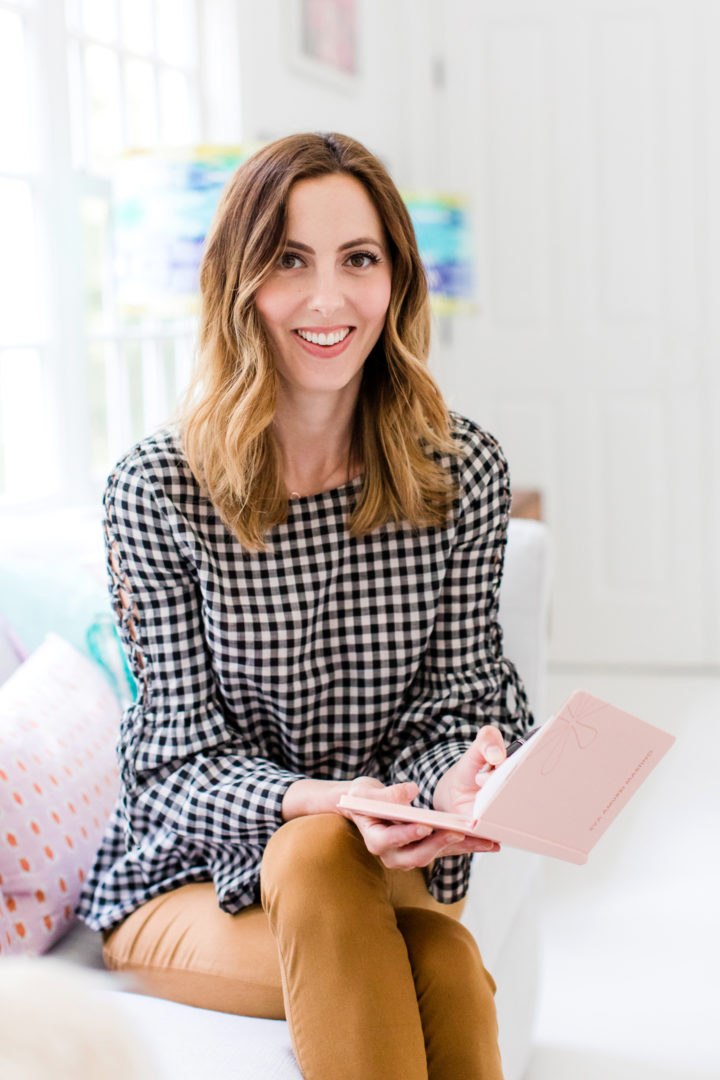 Eva Amurri Martino plans out her content calendar
