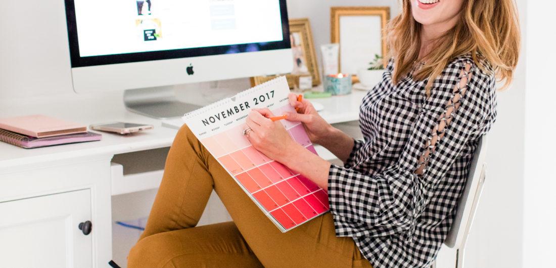Eva Amurri Martino plans out her content calendar