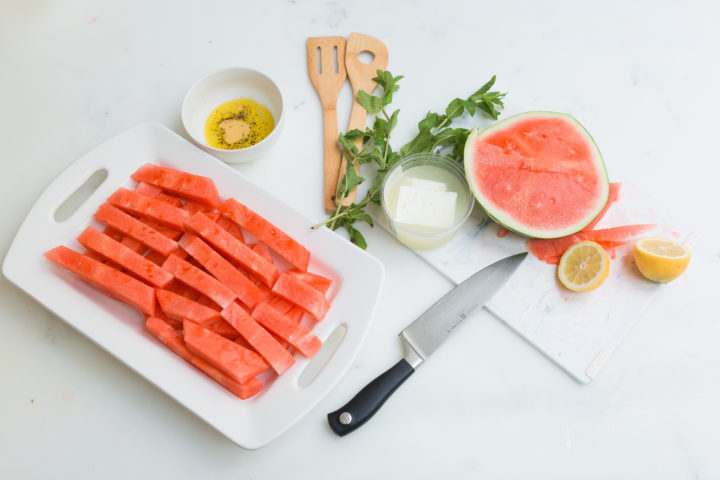 Eva Amurri Martino's famous Watermelon & Feta salad