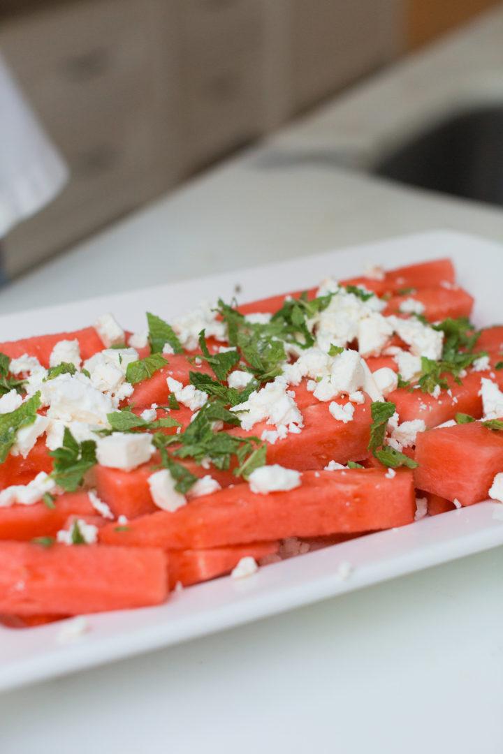 Eva Amurri Martino's Watermelon & Feta salad