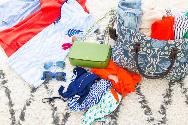 Eva Amurri Martino's travel bag for Maine
