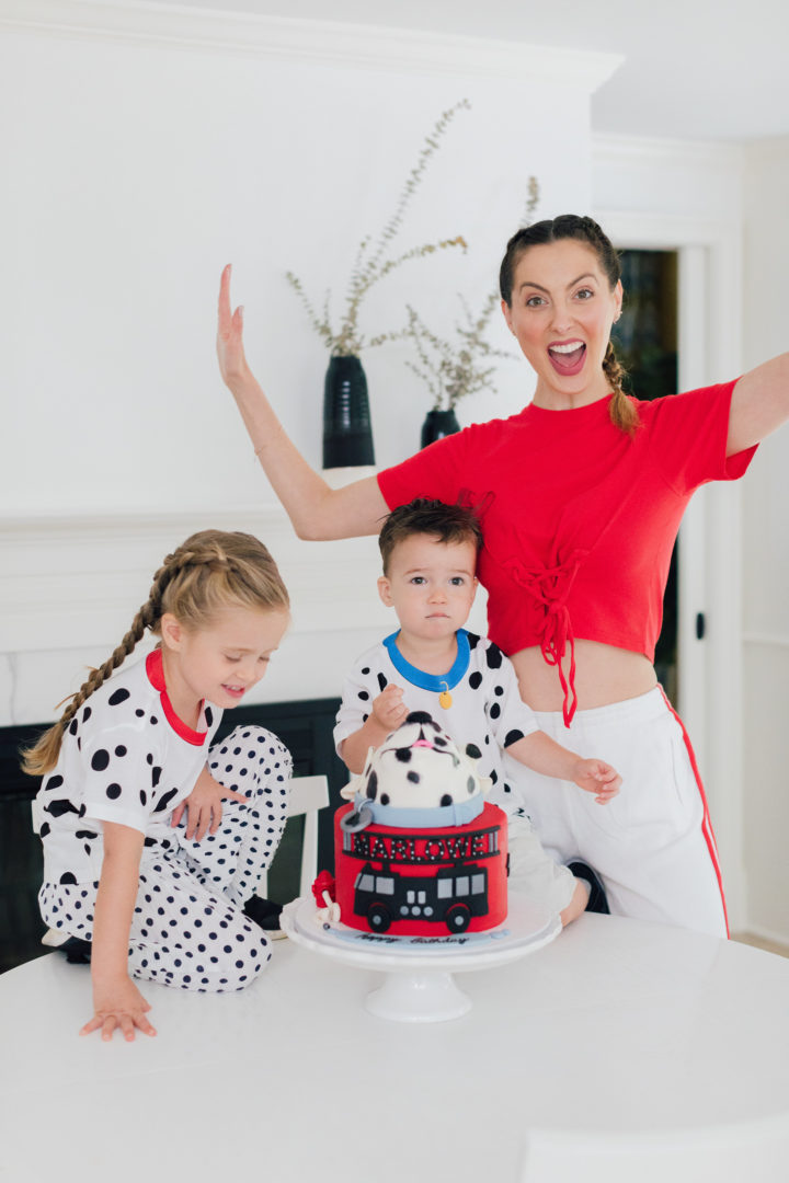 Eva Amurri Martino's Dalmation Birthday Cake for her daughter Marlowe's 4th Birthday