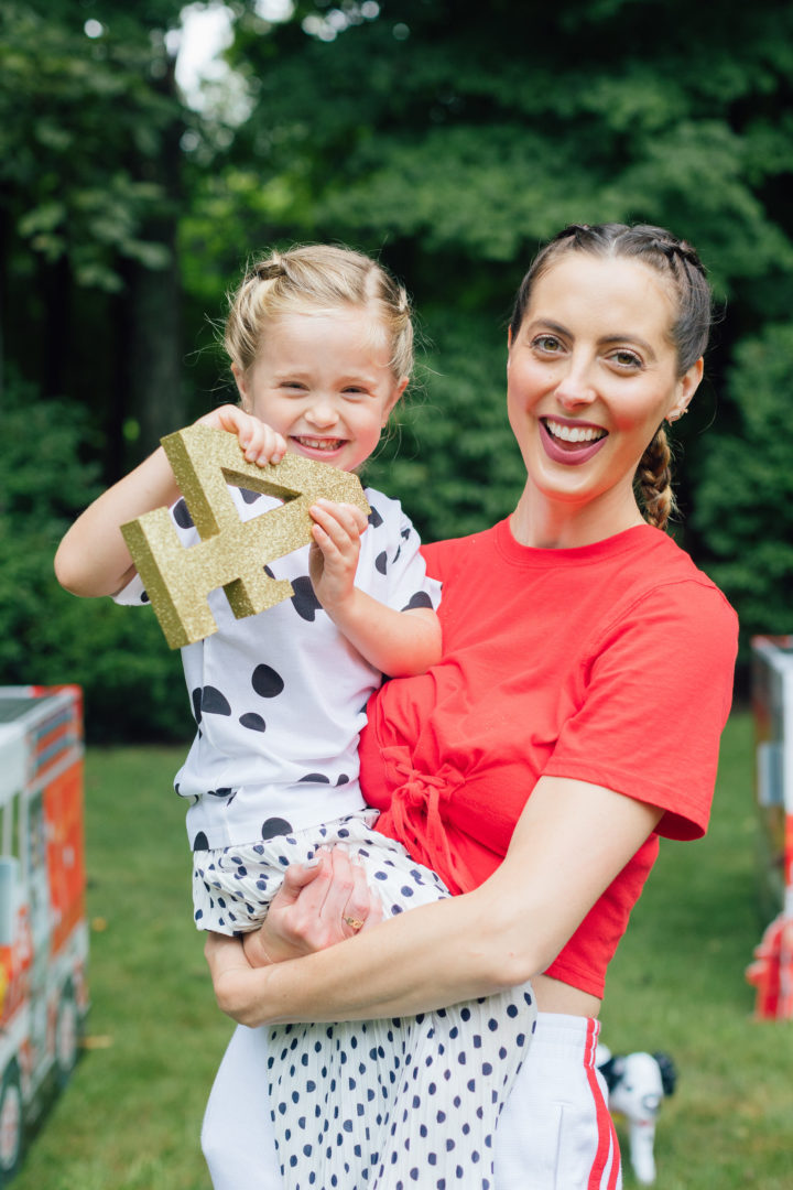 Eva Amurri Martino and her daughter Marlowe wear matching boxer braids.