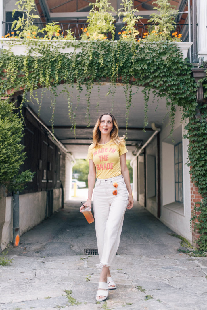 Eva Amurri Martino wears her favorite statement tee