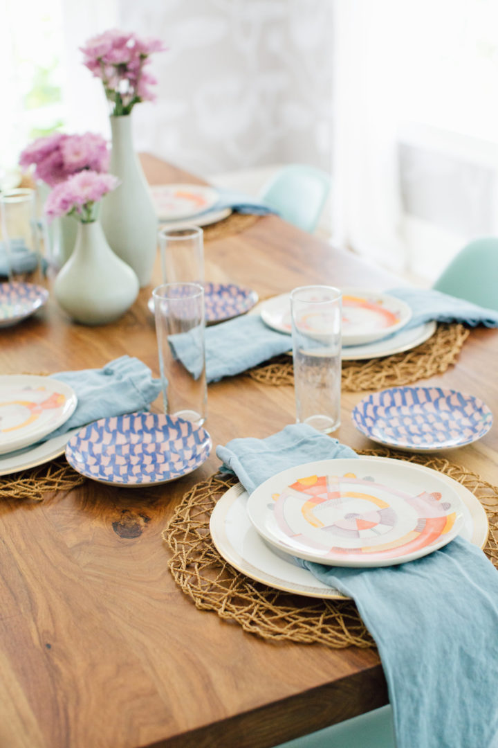 Eva Amurri Martino shares her way of remixing your wedding china for a fresh look