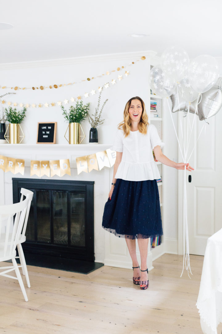 Eva Amurri Martino's Celestial Baby Sprinkling Party