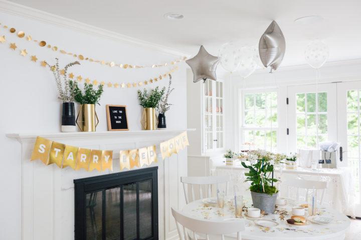 Eva Amurri Martino's Celestial Baby Sprinkling Party