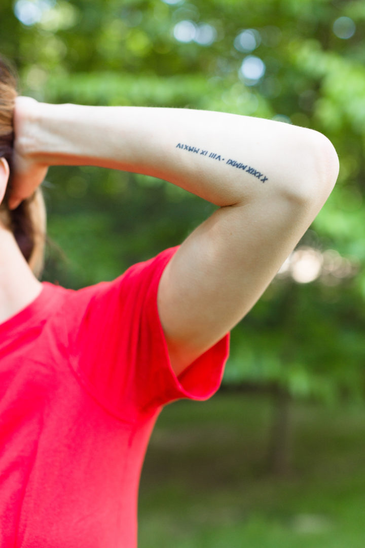 Eva Amurri Martino shows off her tattoos and the meanings behind them