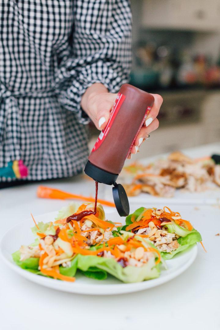 Eva Amurri Martino shares her recipe for Asian Lettuce Wraps