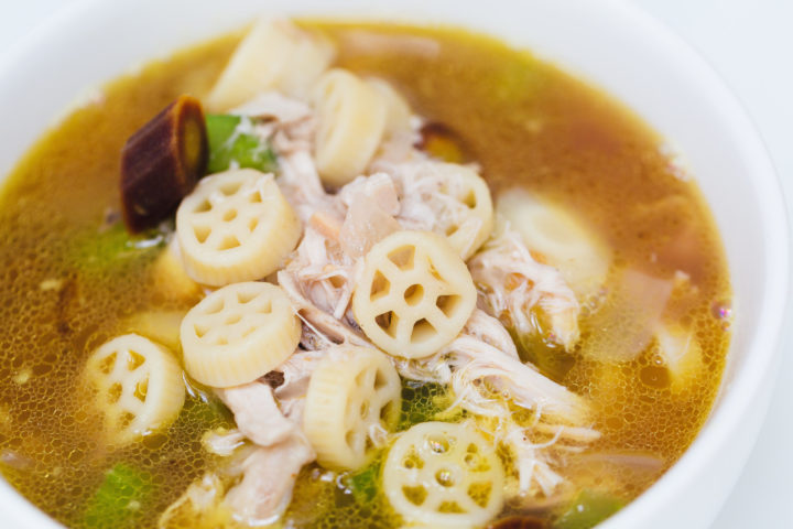 Eva Amurri Martino shares her cheat recipe for chicken soup with rotisserie chicken