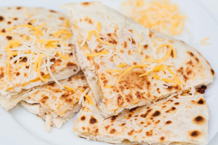 Eva Amurri Martino shares her recipe for Chicken Quesadillas using rotisserie chicken