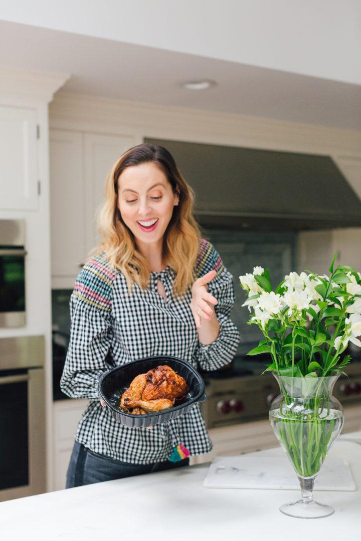 Eva Amurri Martino shares 5 recipes for an easy rotisserie chicken dinner