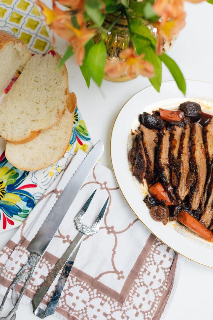 Eva Amurri Martino shares her recipe for Slow Cooker Sunday Brisket
