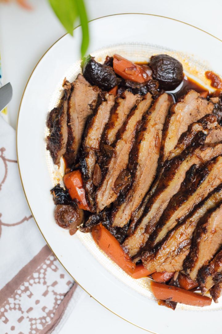 Eva Amurri Martino shares her recipe for Slow Cooker Sunday Brisket