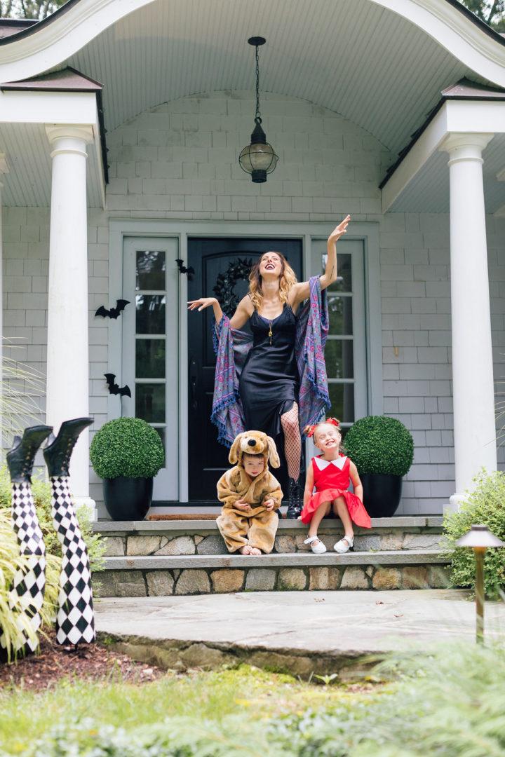 Eva Amurri Martino throws a Hollyweird Halloween Party at her home in Connecticut.