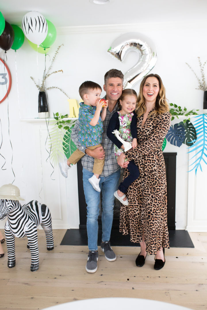 Eva Amurri Martino shares images from her son Major's Safari themed 2nd birthday party