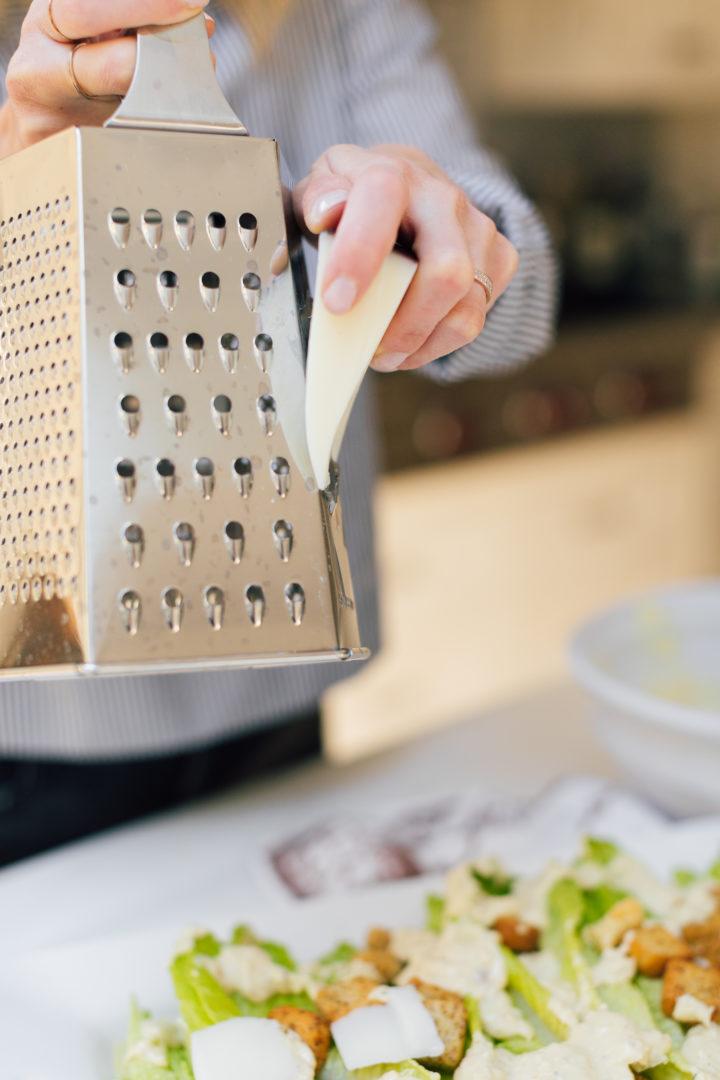 Eva Amurri Martino shares her recipe for the best caesar salad