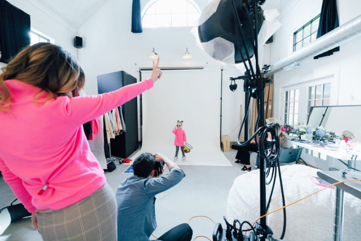 Eva Amurri Martino shares some behind-the-scenes of her collaborative Mother-Daughter fleece with Dudley Stephens