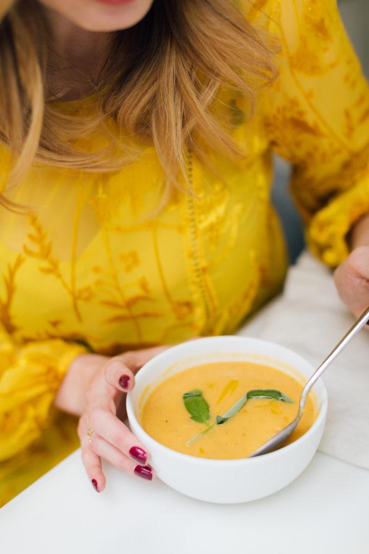 Eva Amurri Martino shares her recipe for vegan butternut squash soup.