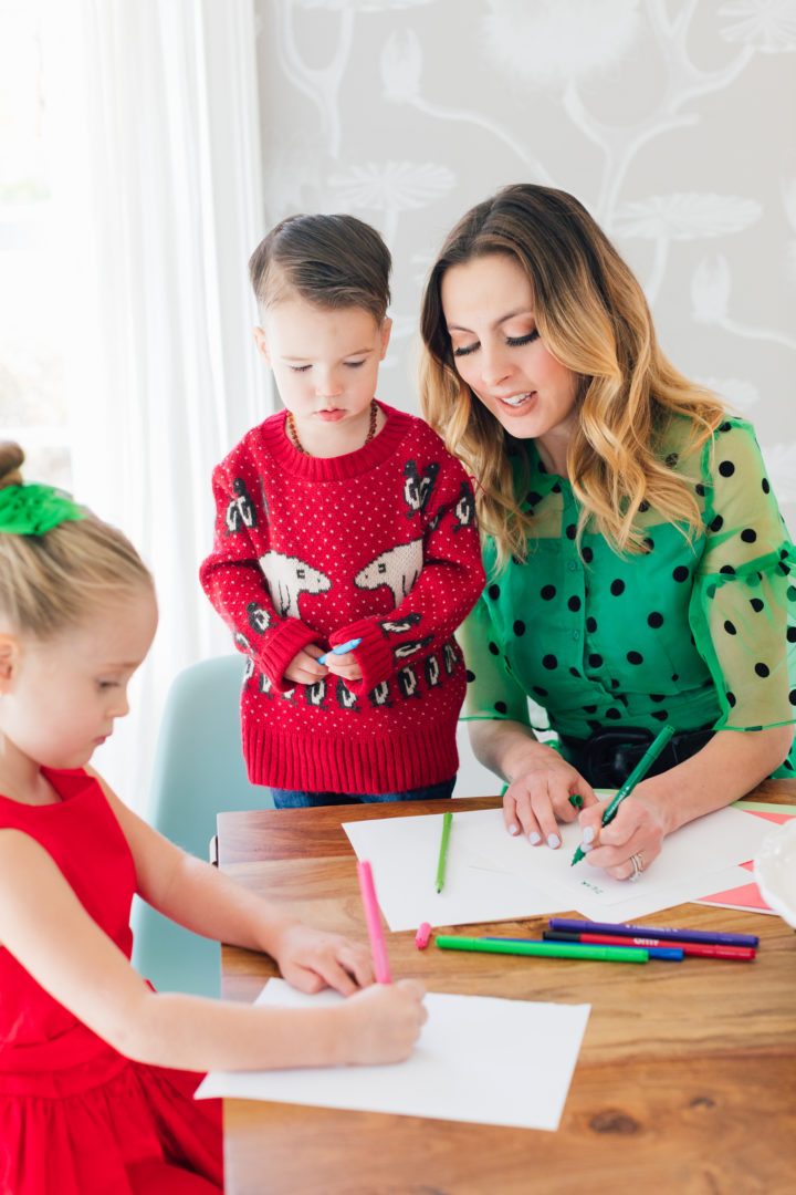 Eva Amurri Martino shares her secret to keeping kids happy and fed during the holidays: Red Baron Pizza!
