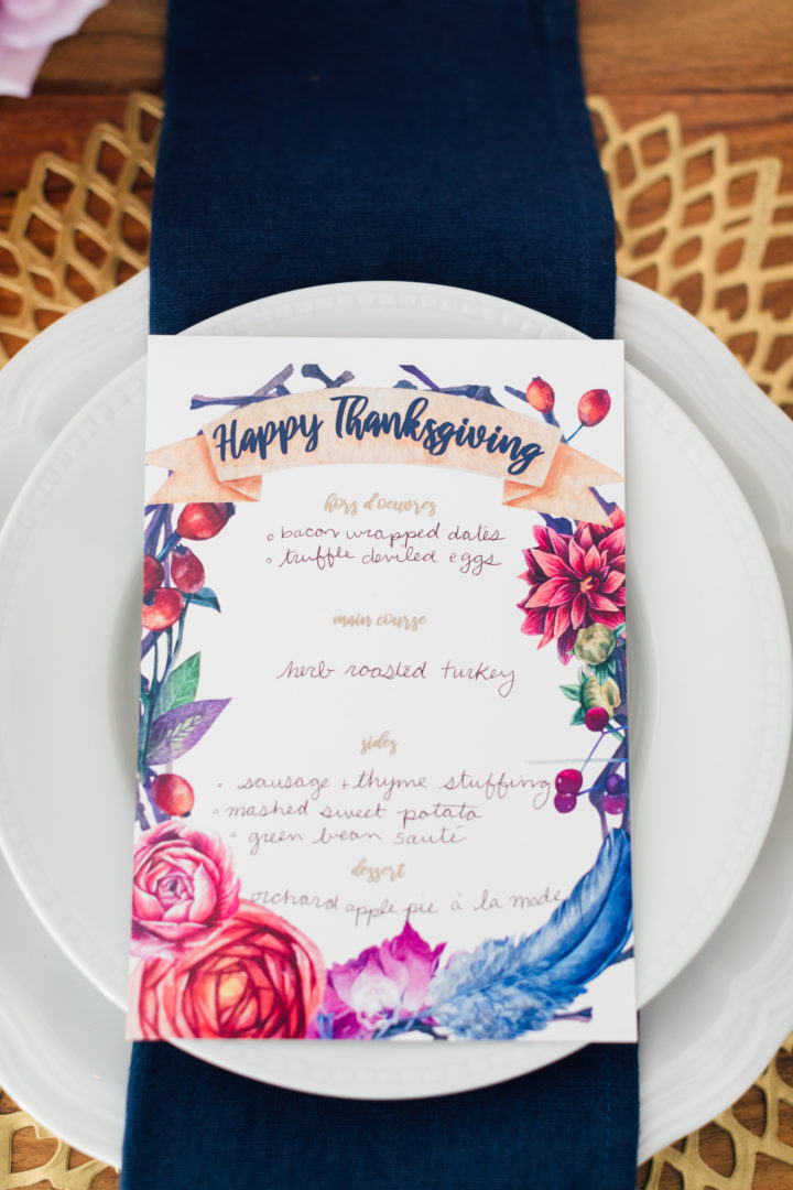 Eva Amurri Martino shares her colorful Thanksgiving table for 2018