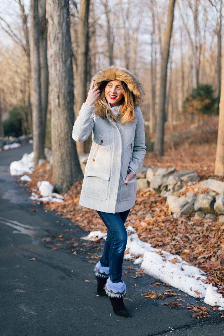 Eva Amurri Martino shares her favorite warm and stylish winter coats.