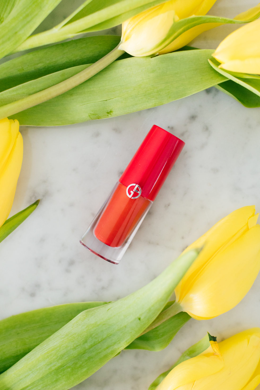 Eva Amurri Martino includes Armani Beauty Lip Magnet as part of her monthly obsessions roundup