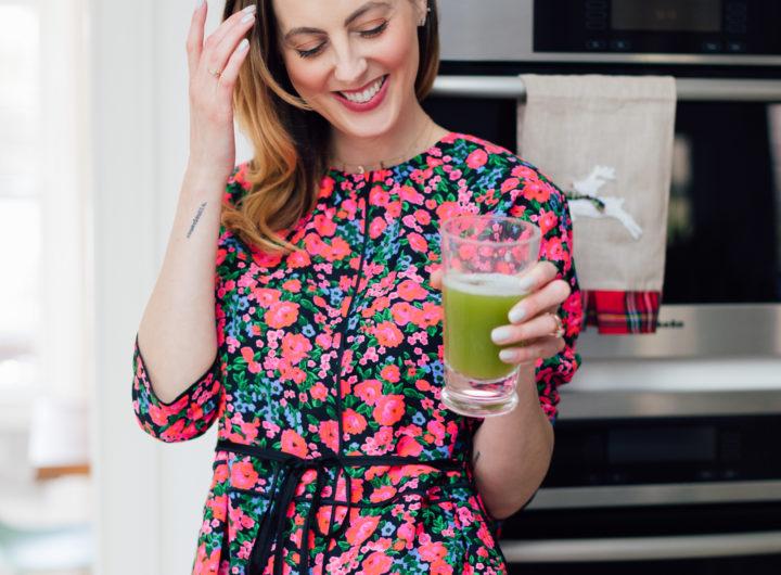 Eva Amurri Martino shares her recipe for a celery juice reset!