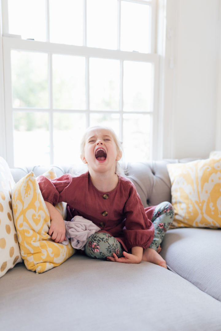 Eva Amurri Martino shares her thoughts on daughter Marlowe's thumb sucking habit.