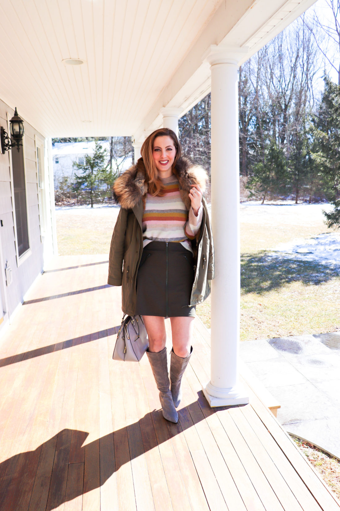 Eva Amurri Martino of Happily Eva After leaves her home for day