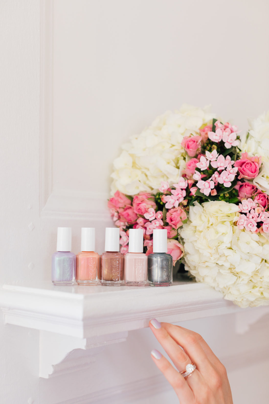 Eva Amurri Martino shares her favorite Essie nail polish colors from their Spring 2019 collection