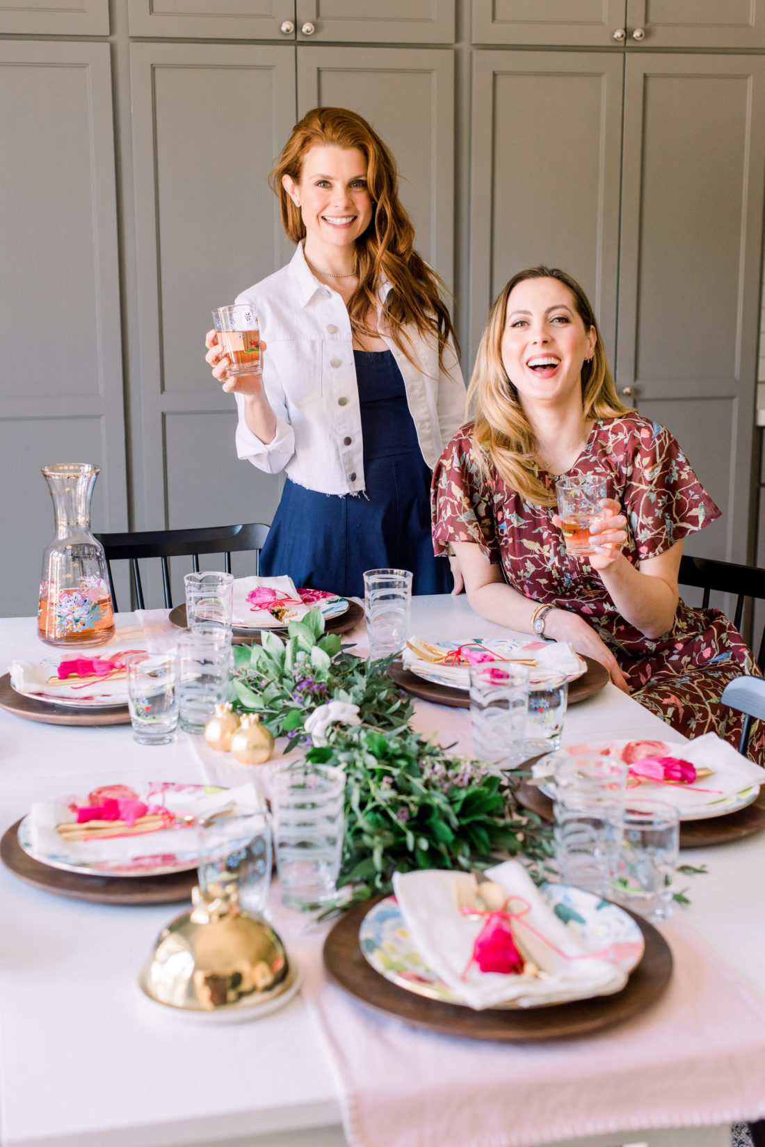 Eva Amurri Martino and Joanna Garcia Swisher share two tabletop decoration ideas for Easter