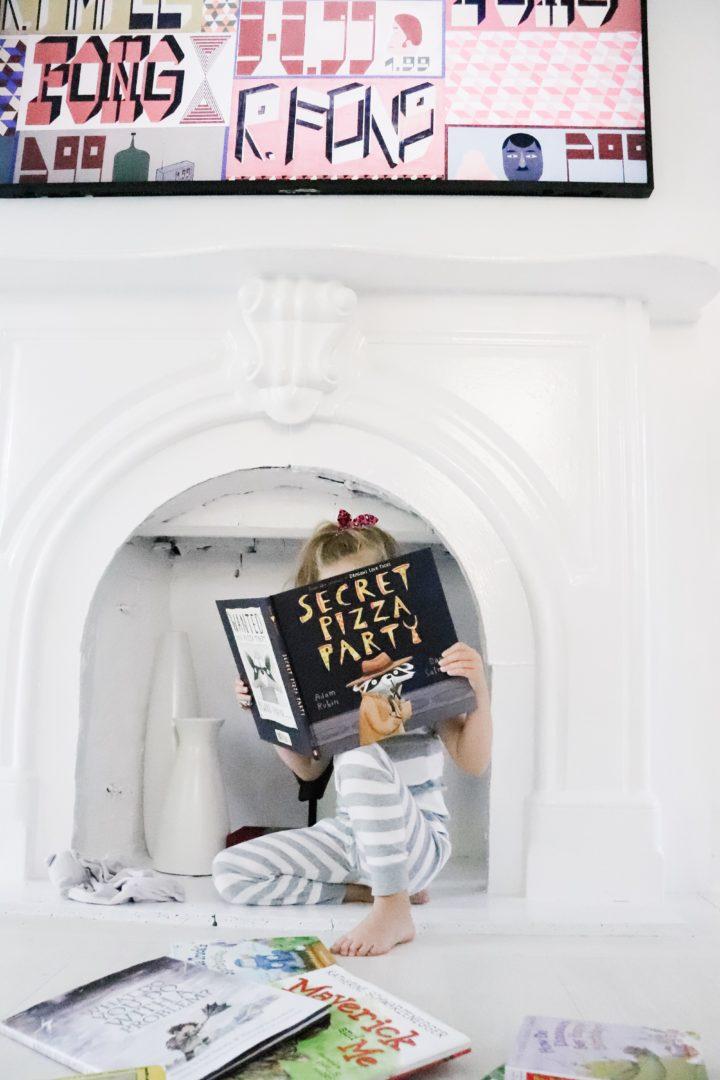 Eva Amurri Martino's daughter Marlowe reads one of their favorite kids books