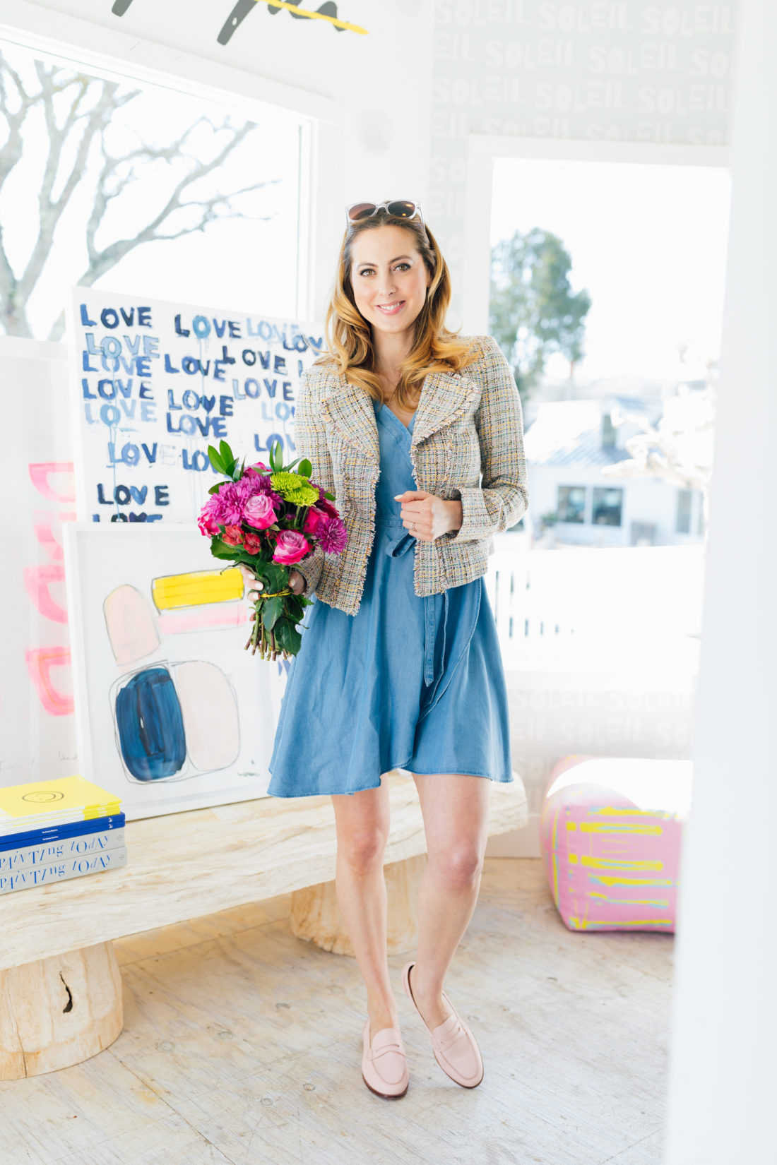 Eva Amurri Martino wears Ann Taylor Loft and shares her favorite Easter outfits