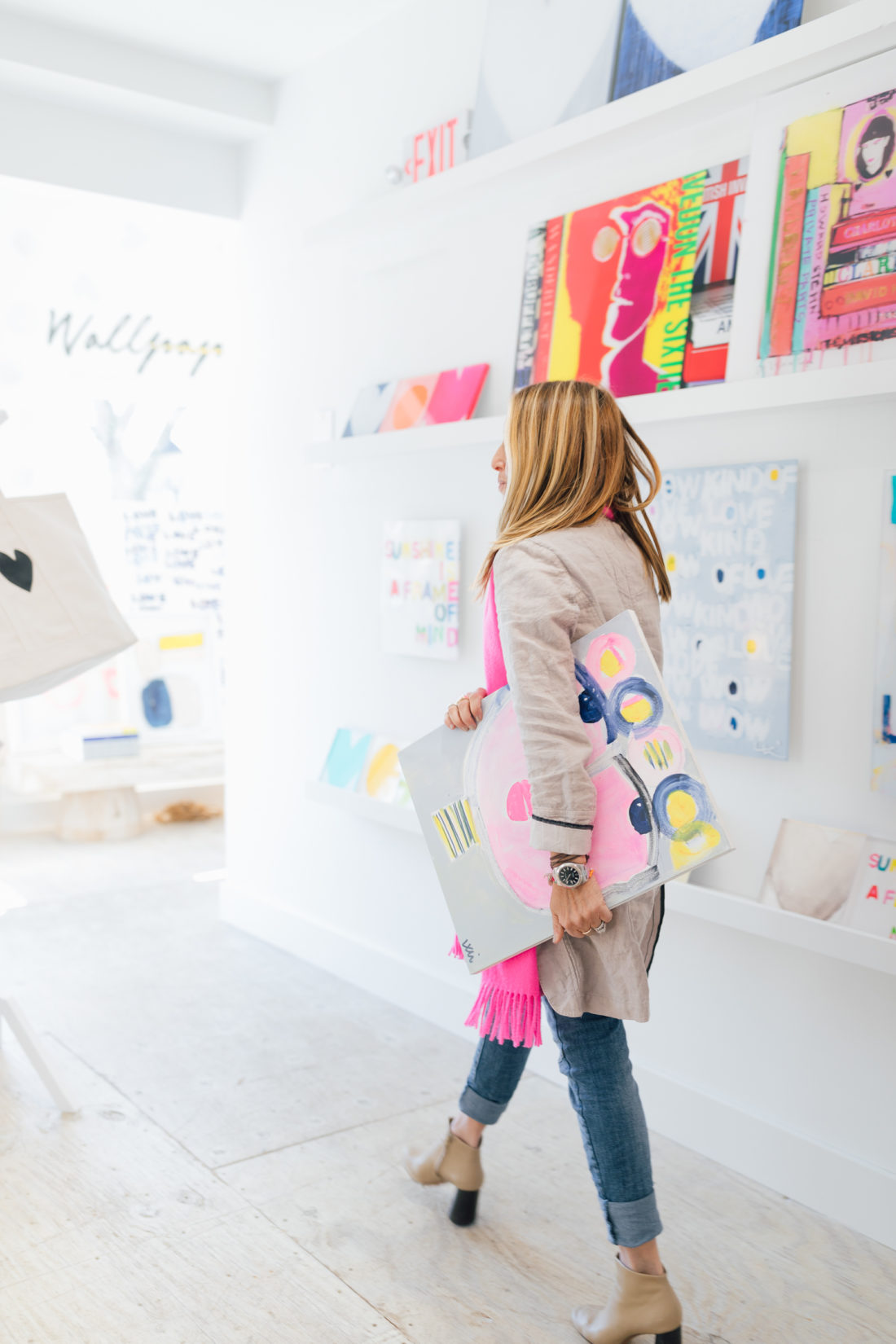 Kerri Rosenthal walks around her colorful Westport shop and talks design with Eva Amurri Martino of Happily Eva After