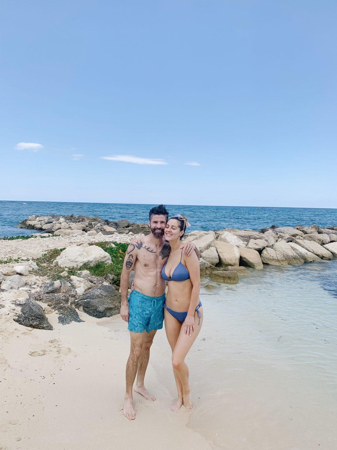 Eva Amurri Martino and her husband Kyle enjoy their family trip to Jamaica