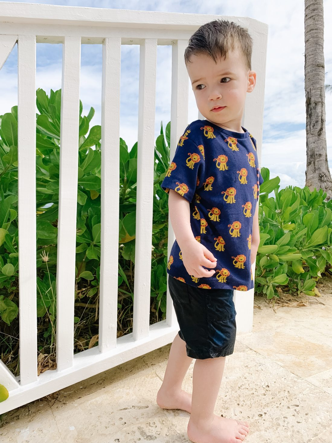 Eva Amurri Martino's son Major enjoying his family trip to Jamaica