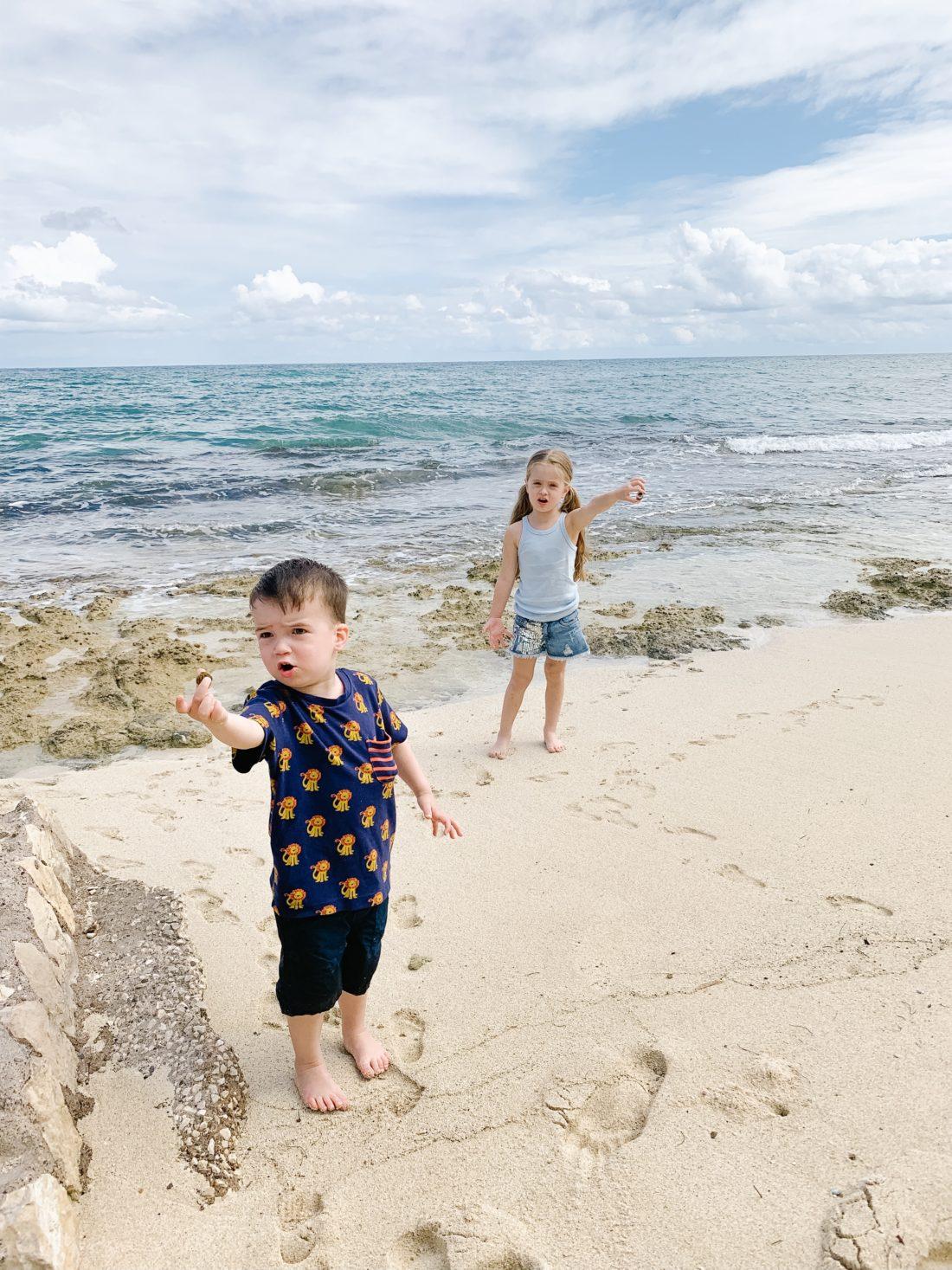 Eva Amurri Martino's kids Marlowe and Major enjoy a family trip to Jamaica