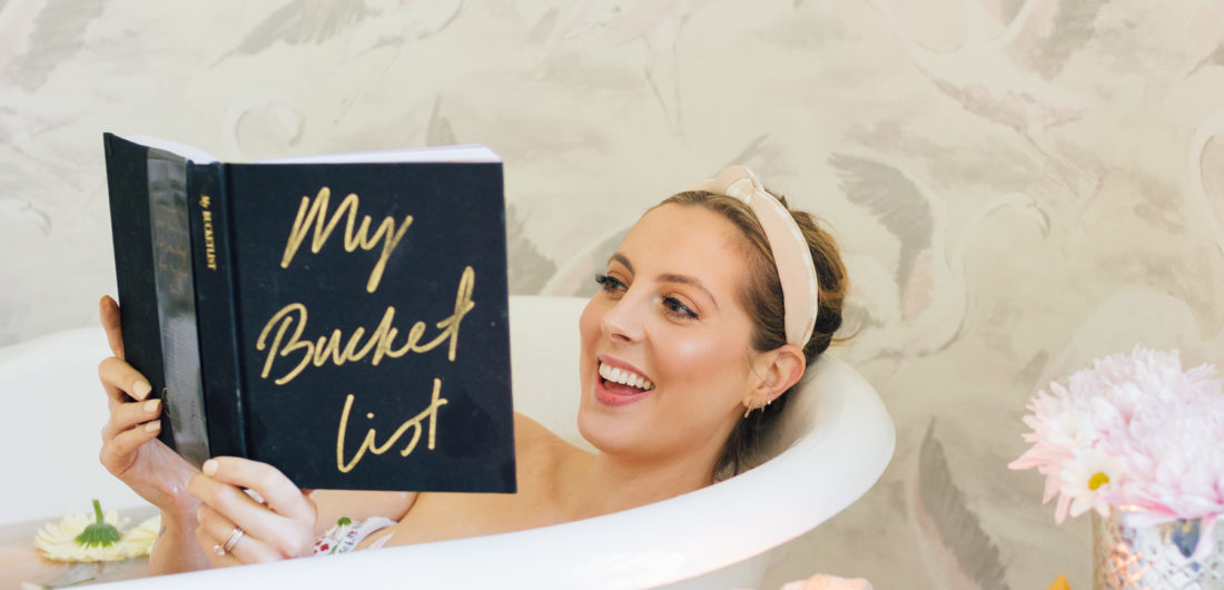 Eva Amurri Martino of Happily Eva After reads My Bucket List in the bath and muses on the best gifts for Mother's Day