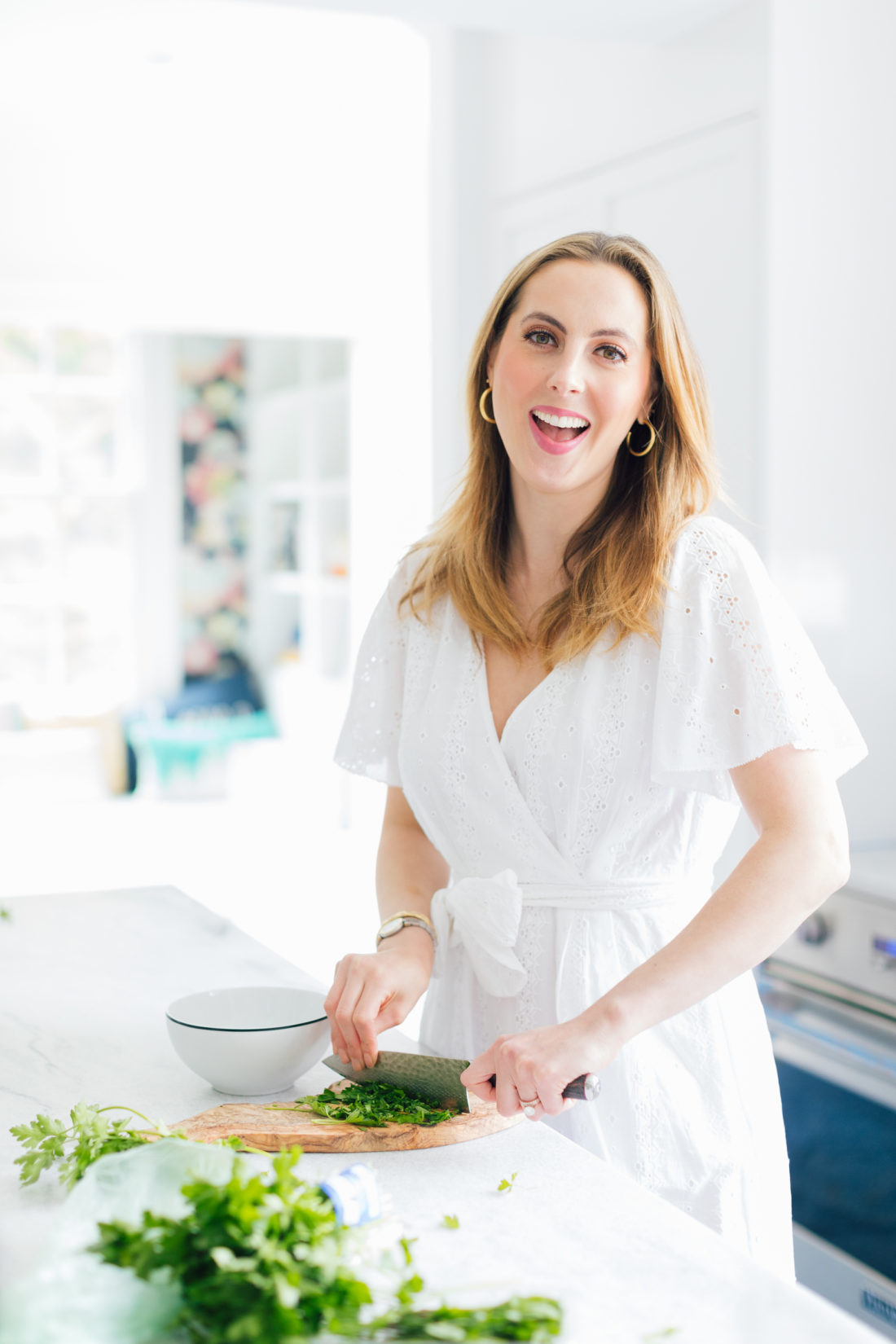 Eva Amurri Martino of Happily Eva After shares her Mother's Day Brunch table