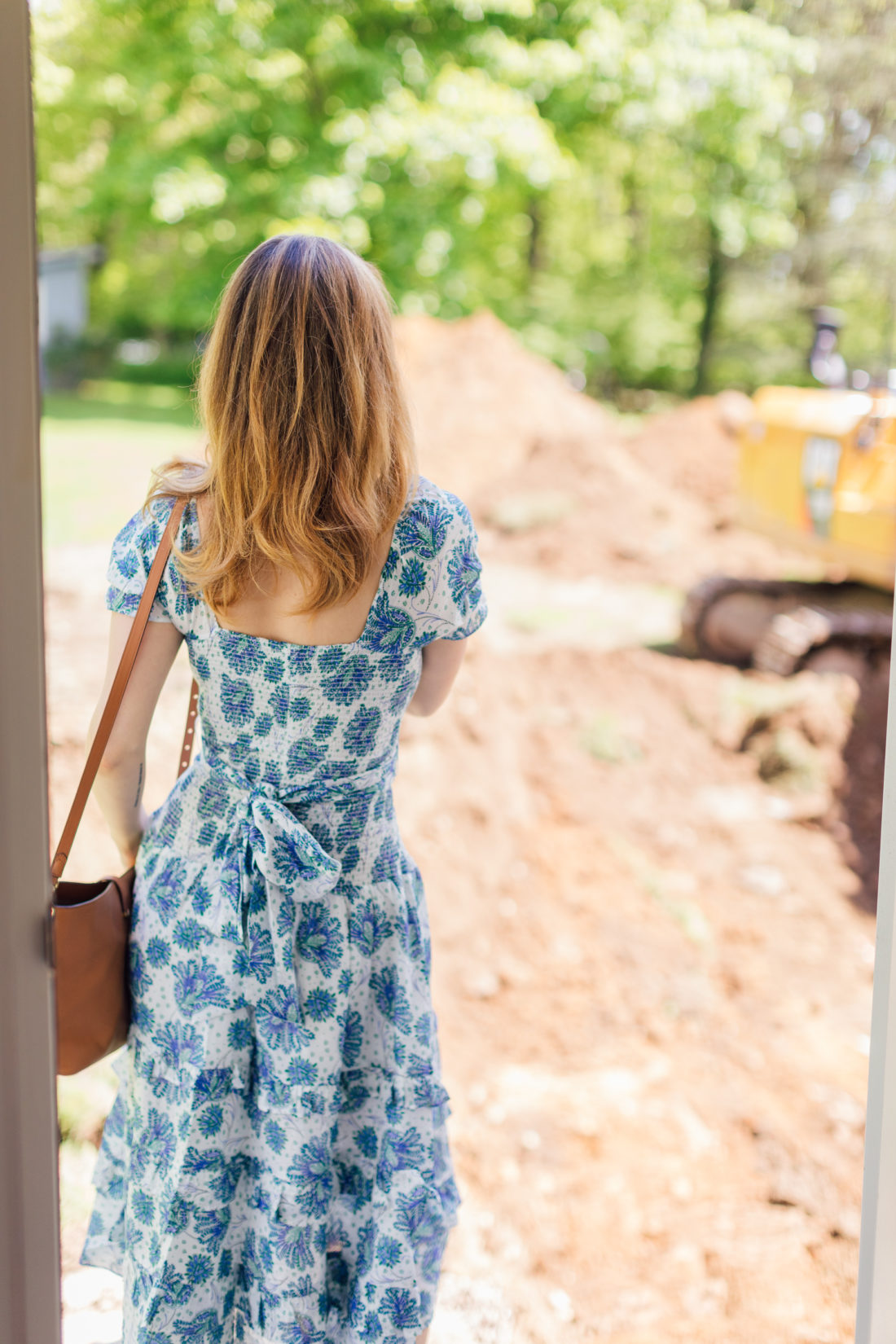 Eva Amurri Martino looks out at her home renovation and thinks about summer plans