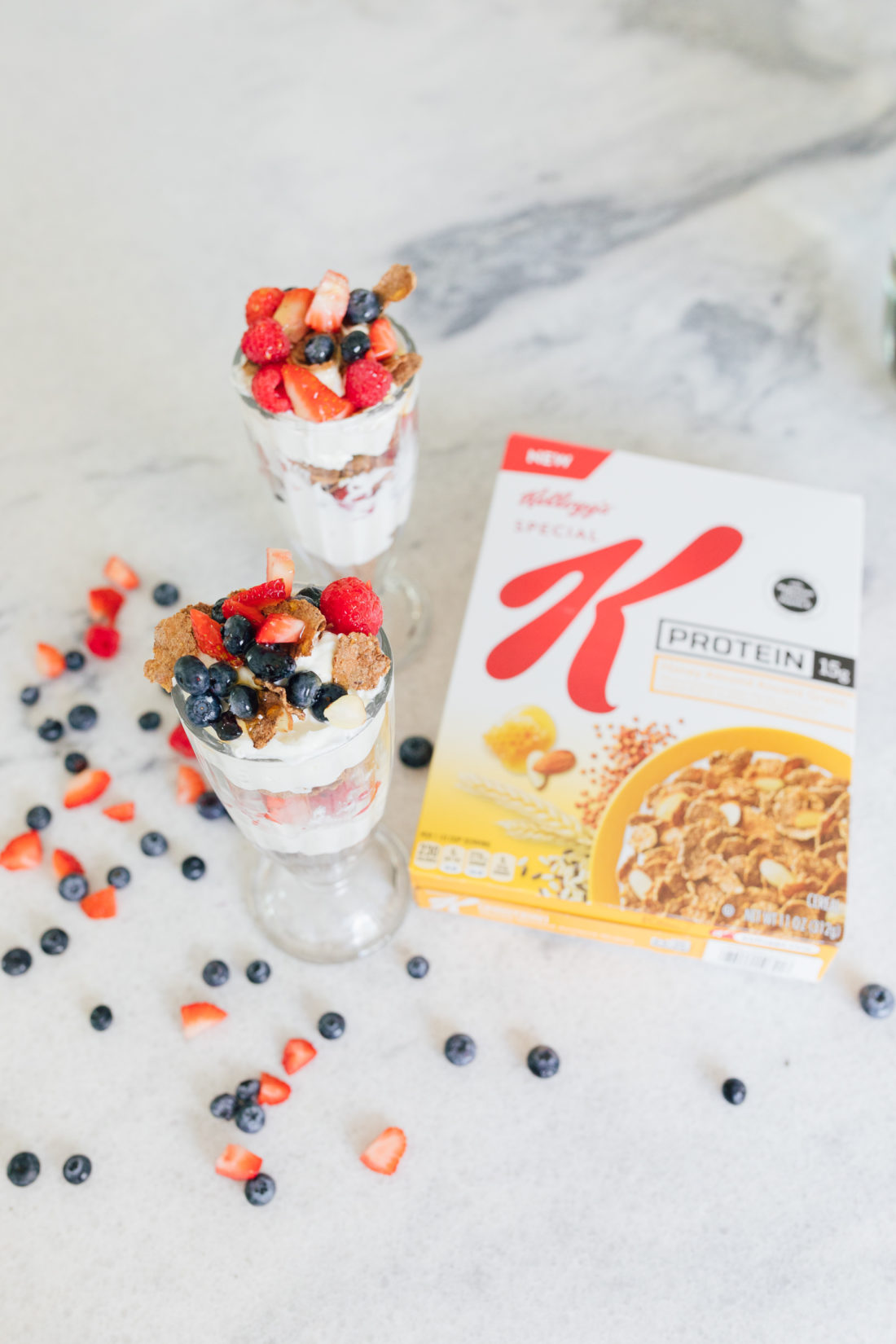 Eva Amurri Martino of Happily Eva After shares her yogurt parfait recipe
