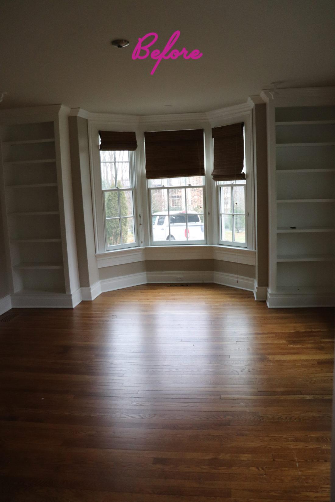 A 'before' image of the playroom inside Eva Amurri Martino's Westport CT home