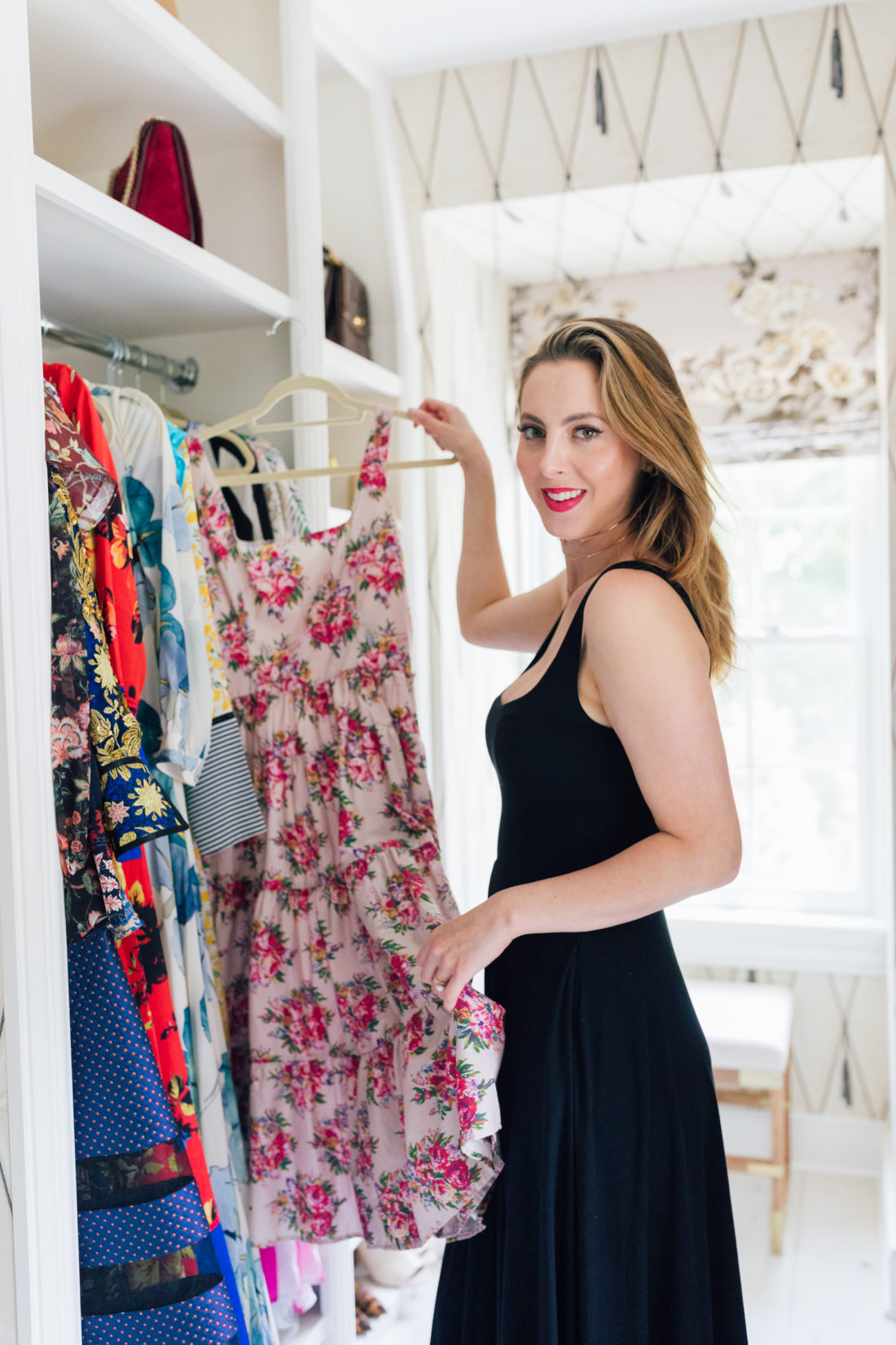 Eva Amurri Martino pulls out dresses for her trip to Italy