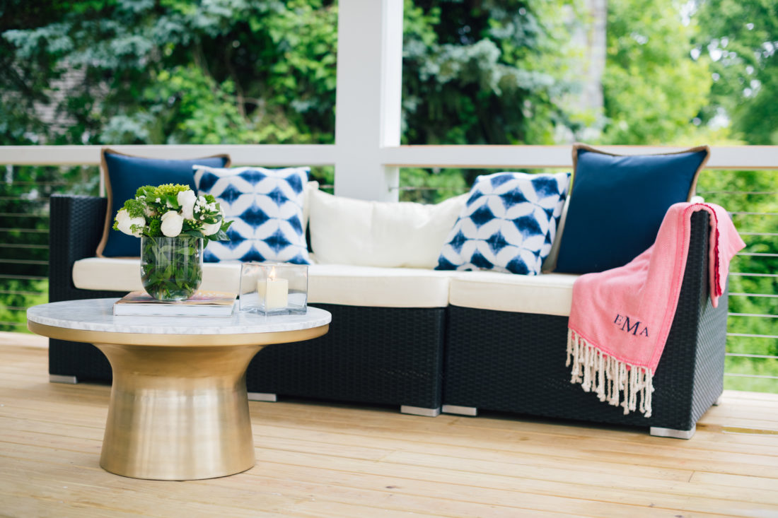 Decor details at Eva Amurri Martino's summer clambake