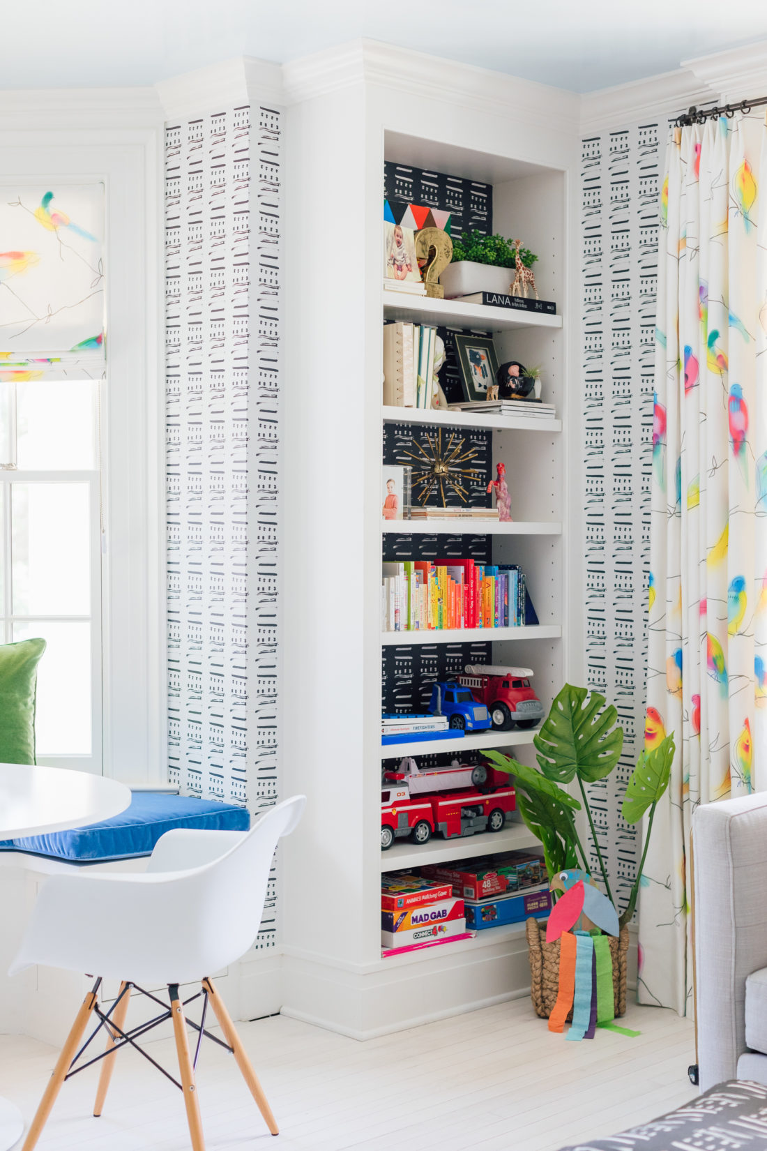 Eva Amurri Martino unveils the renovated playroom in her new Westport, CT home