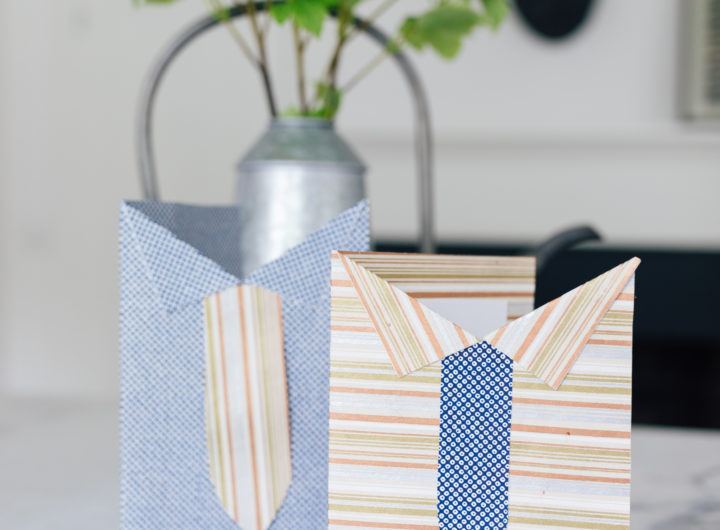 Eva Amurri Martino's DIY shirt and tie cards for Father's Day