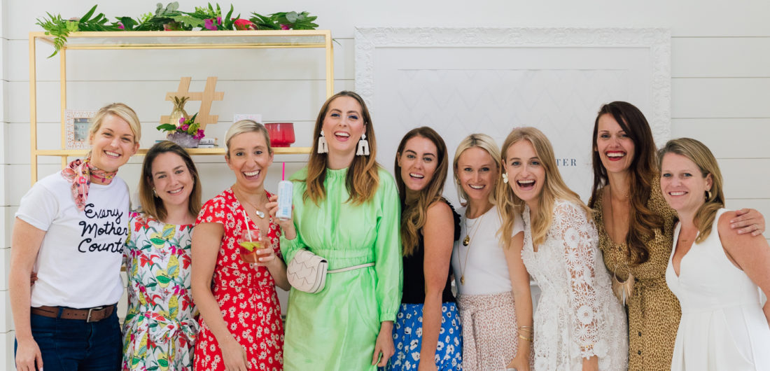 Eva Amurri Martino hosts a kick off event at the Happily Eva After Studio