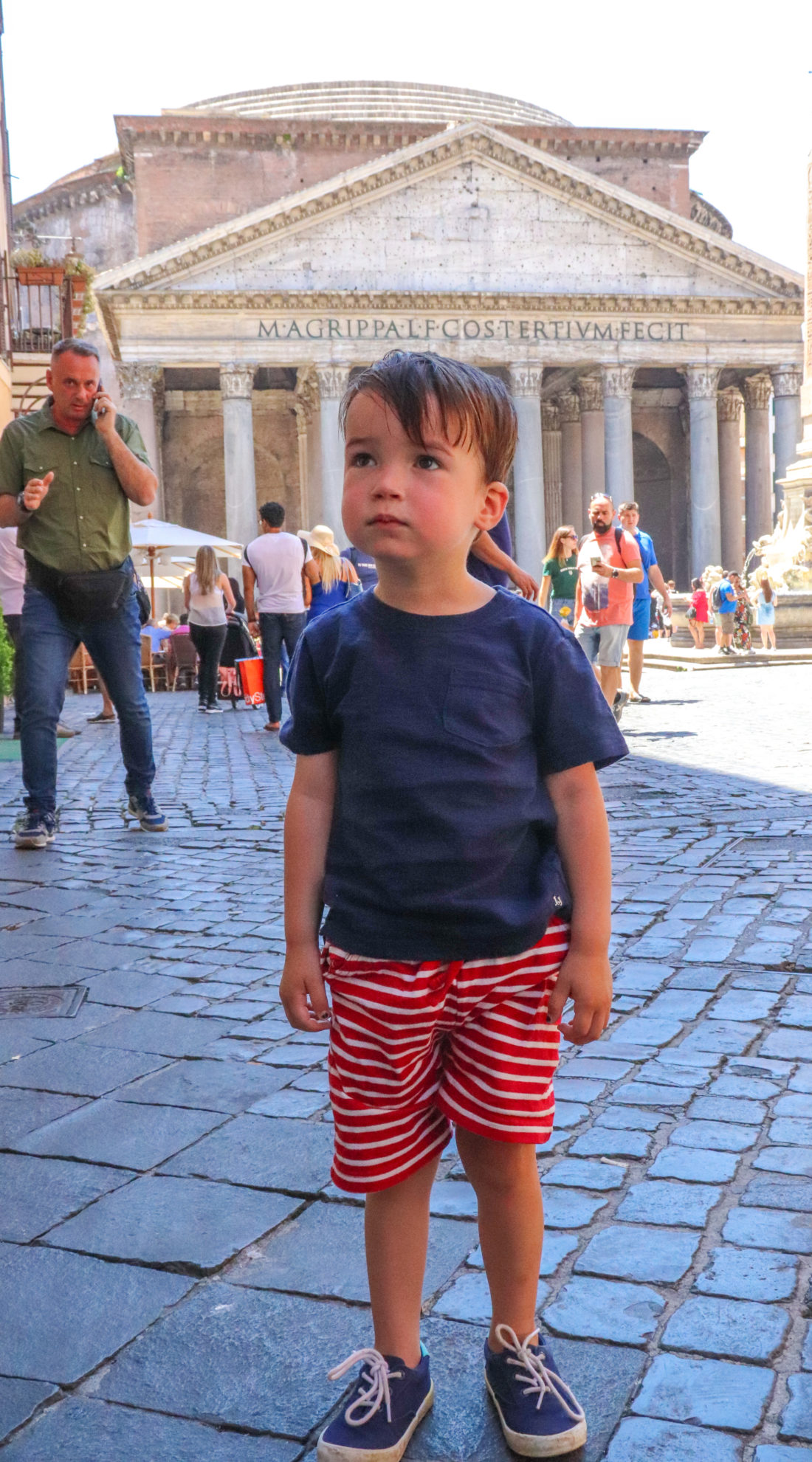 Eva Amurri Martino's son Major in Amalfi